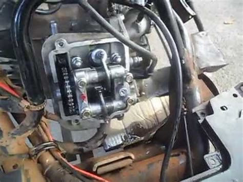 funcionando  motor da suzuki burgman  sem  tampa