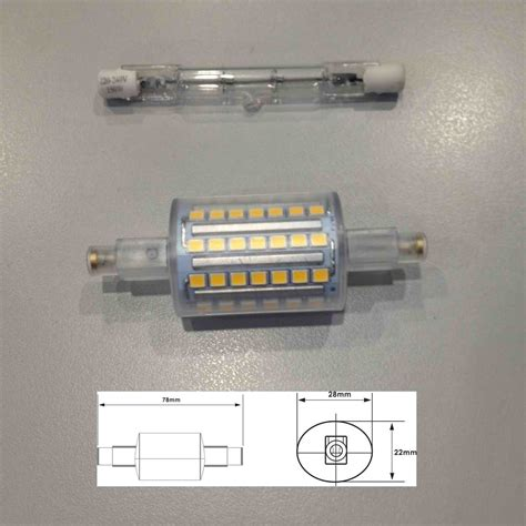 5w t3 led j type ideal led replacement for r7s t3 halogen