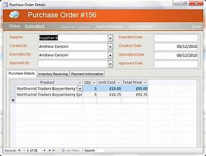 northwind database access 2010 the magnificent seven With access order form template