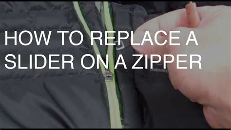 zipper fix replace slider repair jacket broken zippers usa
