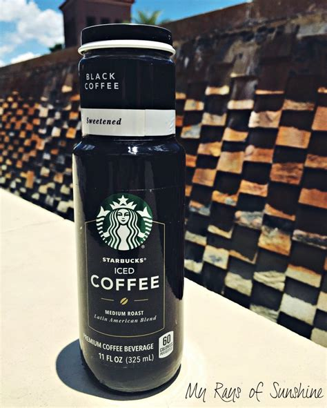 Starbucks cold brew coffee, black unsweetened, 11 oz glass bottles, 6 count. Enjoy the Sunshine With Starbucks - My Rays of Sunshine