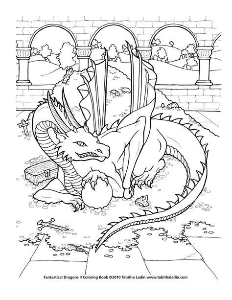 Japanese Dragon Outline | japanese dragon 01 - sketch by