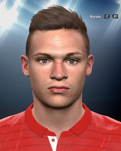 On his 25th birthday, we present his best goals, nicest skills and funniest actions. Joshua Kimmich PES2016 Face By DzGeNiO - PES Patch
