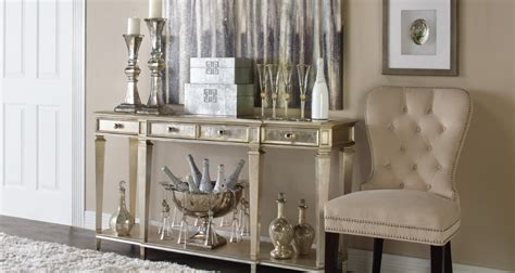 entryway inspiration empire console table  gallerie