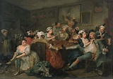 Hogarth William. A Rake s Progress III The Rake at the ...