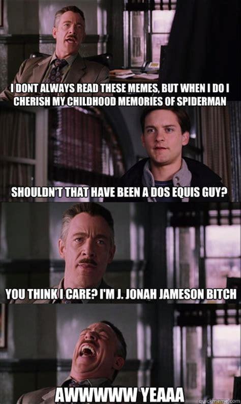 J Jonah Jameson Meme - jj jameson memes quickmeme