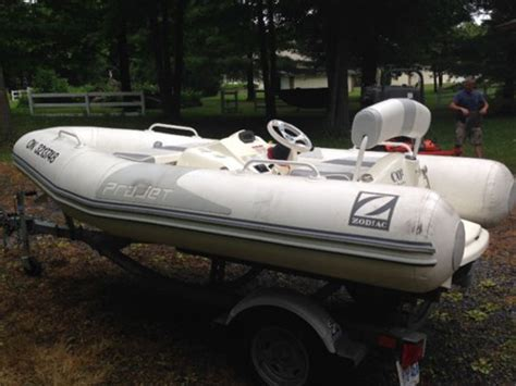 Zodiac Boats For Sale In Ontario by Zodiac 350 Projet 2008 Used Boat For Sale In Kingston