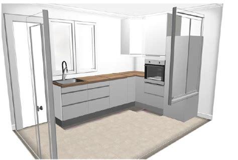 element bas de cuisine ikea séparer une cuisine du salon en conservant la lumière 4