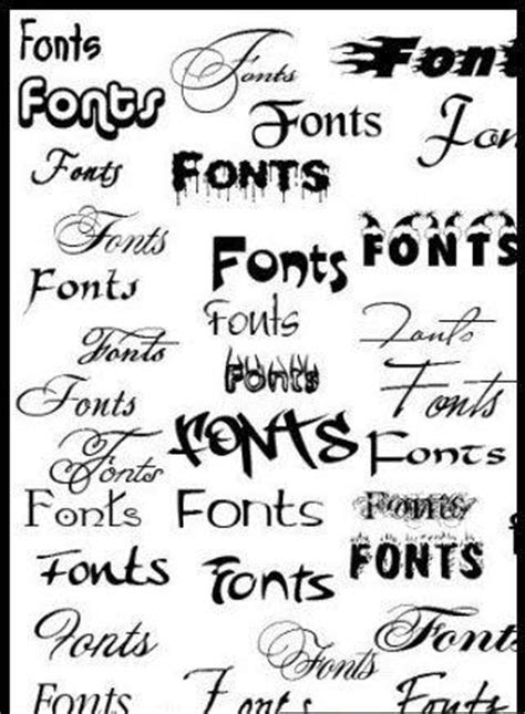 Simple Graffiti Fonts Tattoos Designs