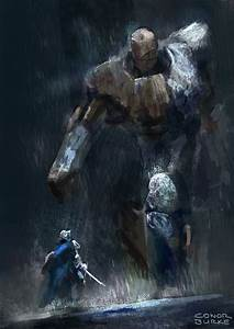 Wood and stone golem by conorburkeart on DeviantArt