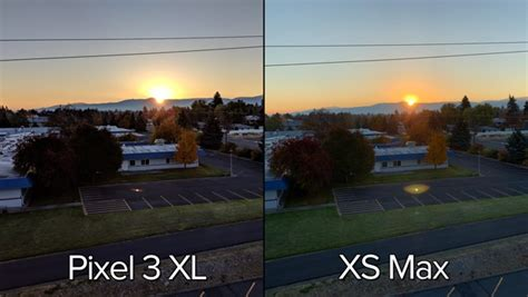 comparing photography iphone xs max  google pixel  xl