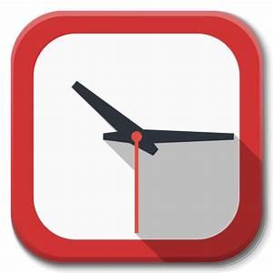 Apps Clock Icon | Flatwoken Iconset | alecive