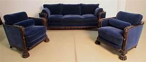 Sessel Sitzhöhe 60 Cm : dreiteilige neorenaissance salon sitzgruppe epoche ~ A.2002-acura-tl-radio.info Haus und Dekorationen