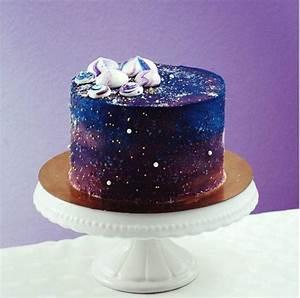 Galaxy Cake: Diese Weltall Kuchen und Cupcakes erobern den