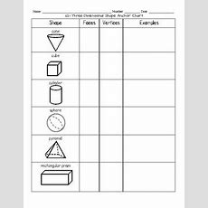 1g1 3d Shapes Worksheets, Games And Assessment By Meghan Kurleto