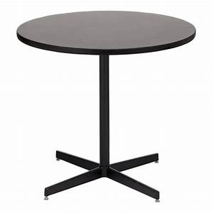 Graphite Nebula Cafe Table with Black Base for Rent: Cafe ...