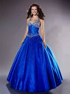 Dam Brinoword: Wedding dress cute royal blue