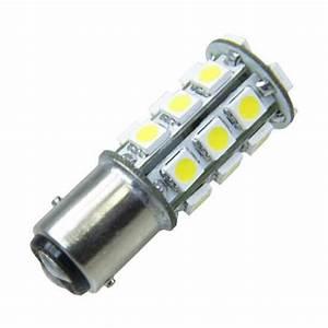 Ampoule Led Auto : ampoule led auto 27 led smd 12 volts bay15 d bipolaire ~ Voncanada.com Idées de Décoration