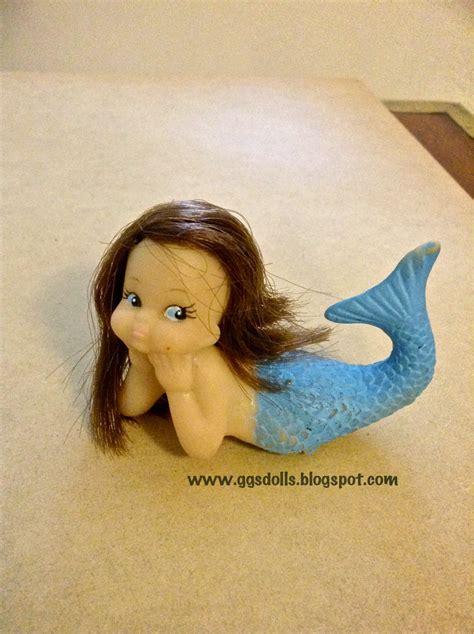 ggsdolls vintage rubber mermaid toy