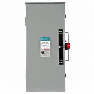 Siemens Double Throw 100 Amp 600