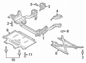 2010 Audi Q5 Brace   Lower   Liter  Trans  Manual