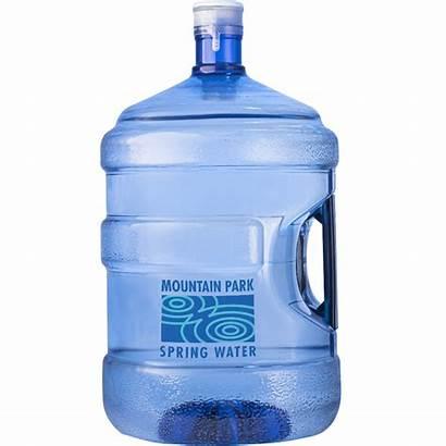 Water Bottled Sizes Gal Handle Spring Mountain