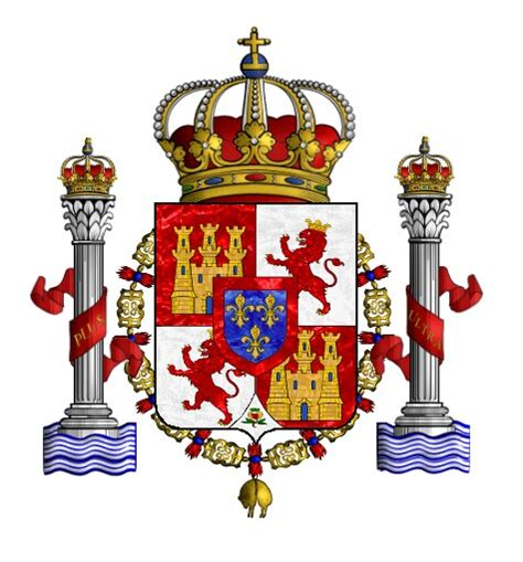 European Heraldry  Bourbon Spain