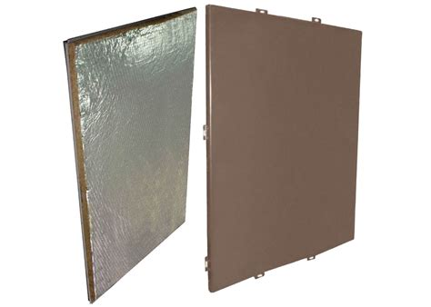 insulated curtain wall panels aluminum cladding panels