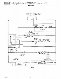 Parts For Frigidaire Wrt22rrcd0  Ice Maker Wiring Diagram Parts