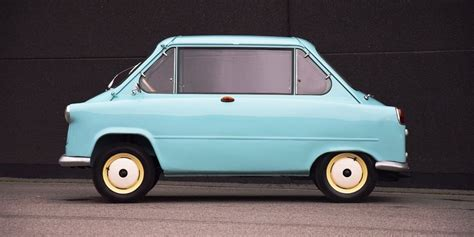 This Rare Two-faced Zundapp Janus Microcar Is For Sale