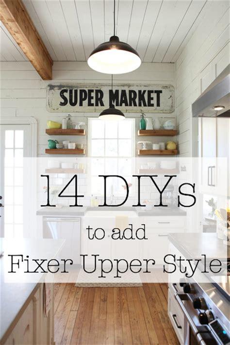 Farmhouse Kitchen Decorating Ideas - shop fixer upper the weathered fox