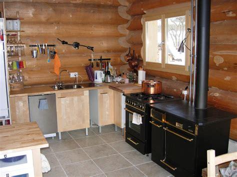 cuisine maison bois chalets maison bois rond