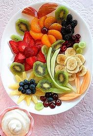 Cheese and Fruit Platter with Dip