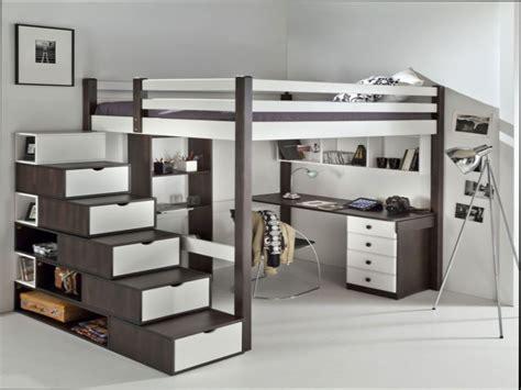 lit mezzanine 2 places avec canapé chambre chambre ado chambre fille chambre ado fille