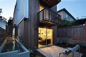 Vertical, House, Raises, Sustainable, Seattle, Living, To, New, Heights