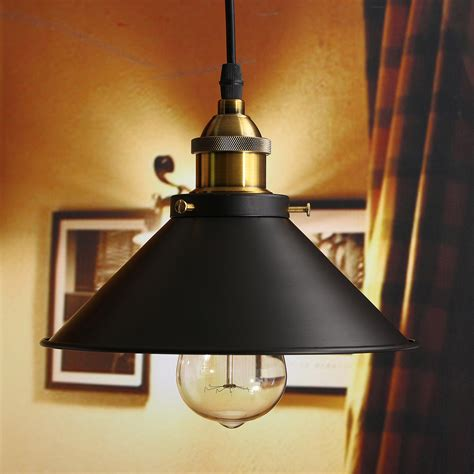 Retro Industrial Vintage Hanging Iron Ceiling Lamp Pendant