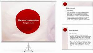 japanese flag powerpoint template backgrounds id With japan powerpoint template free