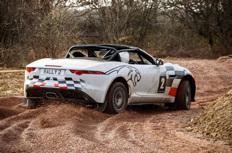 The One-off Jaguar F-type Rally Car