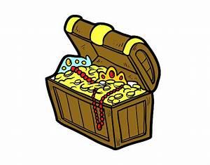 Dibujo de El tesoro pirata pintado por en Dibujos net el día 30 04 16 a las 10:48:13 Imprime