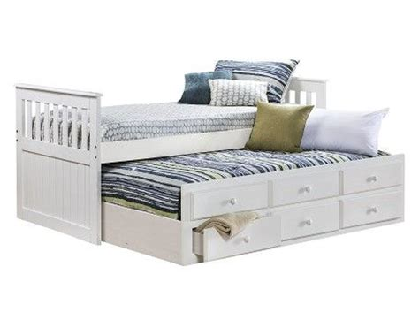 4127 bedroom photo frames knollwood collection white captains bed home