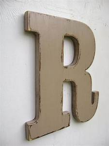 personalized initals big lettershanging decor rustic With large letter c hang wall