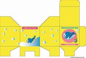 Packaging de produit de bain pour les enfants Arts appliqués