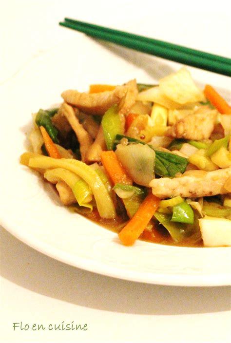 cuisine wok poulet flo en cuisine wok au poulet
