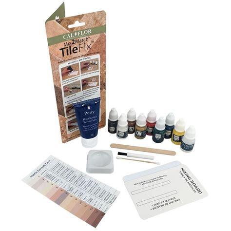 calflor tilefix tile  stone repair kit