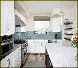 Light Blue Kitchen Backsplash Blue Glass Tiles For Backsplash Home Design Ideas