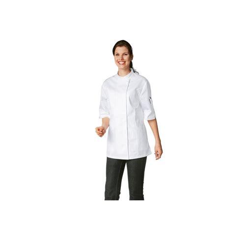 veste cuisine couleur veste de cuisine femme manches courtes bragard verana