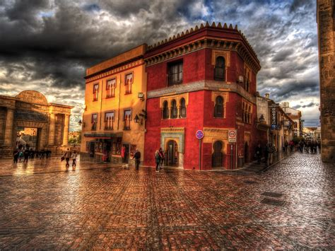 1600x1200 Town HDR 1600x1200 Resolution HD 4k Wallpapers ...