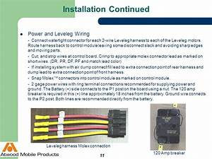 Atwood Fifth Wheel Leveling System Wiring Diagram