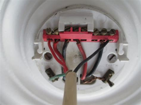 Ceiling Rose Unexpected Wiring Diynot Forums