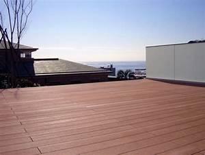 Revetement Sol Exterieur Composite : revetement aspect exterieur lame terrasse composite ~ Edinachiropracticcenter.com Idées de Décoration